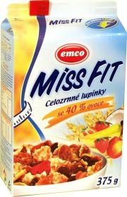 Miss fit celozrnné lupienky so 40% ovocím