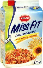 Miss fit celozrnné lupienky so sezamom a slnečnicou