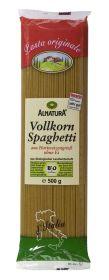 Celozrnné špagety Cestoviny z celozrnnej tvrdej pšenice, bezvaječné BIO