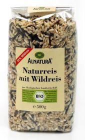 Naturálna dlhozrná ryža s divou ryžou BIO