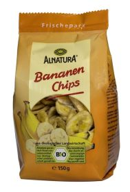 Sušené banánové plátky s medom BIO