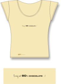 Tričko AKV - model D-01 béžové