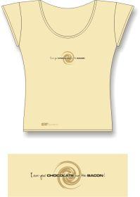 Tričko AKV - model D-02 béžové