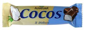 Kokosová tyčinka celomáčaná v mliečnej čokoláde BIO